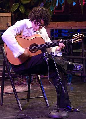 Randy Cordero spanish flamenco guitar fredericksburg