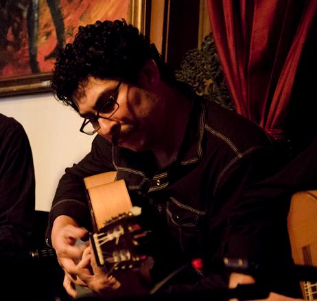 Randy Cordero flamenco guiatrist San Antonio, Austin, Fredericksburg, Houston